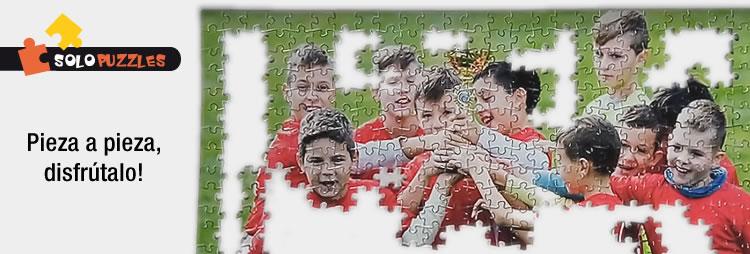 disfruta montando el puzzle